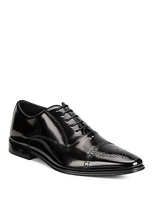 Spazzolato Brogue Oxford Shoes