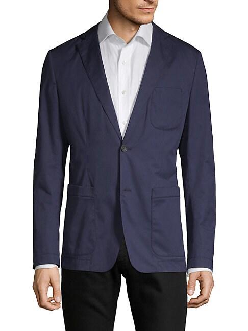 Hugo Boss Cottons Marcoz Notch Jacket