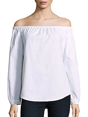 Cotton Off-The-Shoulder Top