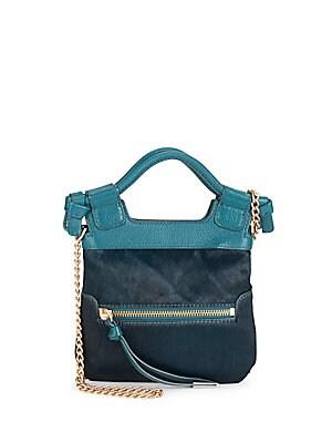 Tiny City Leather Crossbody Bag