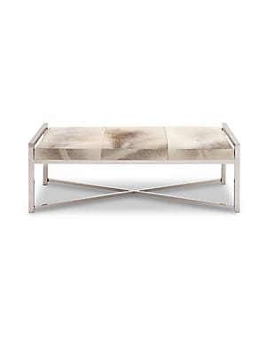 Stainless Steel Loveseat Bench