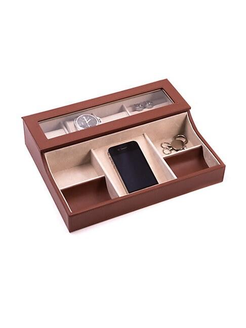 BEY-BERK   Wood Valet Watch Box   Goxip