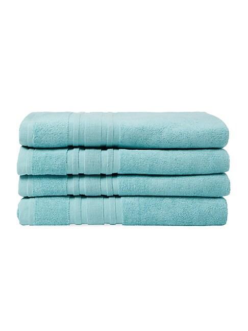 Cotton Bath Towel: Set of 4