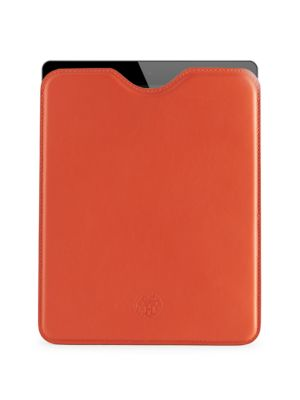 HERM S Vintage Red Swift Ipad Case