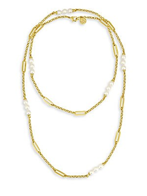 Modern 6MM Organic Pearl Necklace