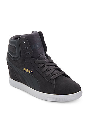 Vikky Wedge Hightop Sneakers