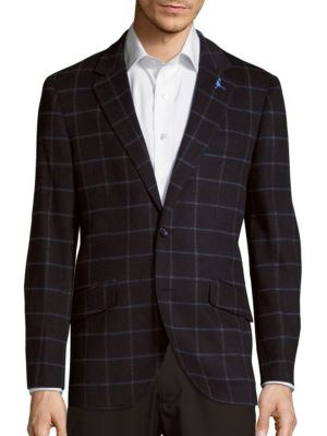 Tailorbyrd  Courbet Wool-Blend Jacket
