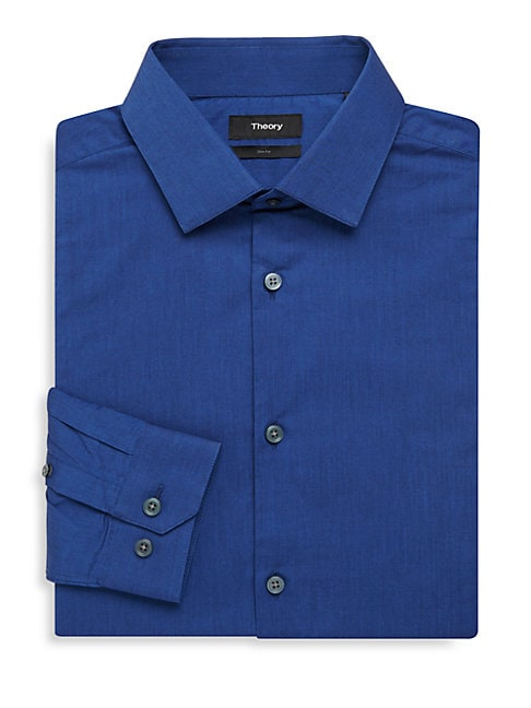 Dover Cotton Slim-Fit Dress Shirt