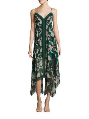Bcbgmaxazria Dresses Urban Jungle Isabela Asymmetrical Floral Dress
