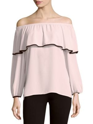 Vince Camuto  OFF-THE-SHOULDER TOP