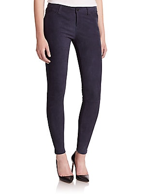 Coated Super Skinny Jeans by J Brand