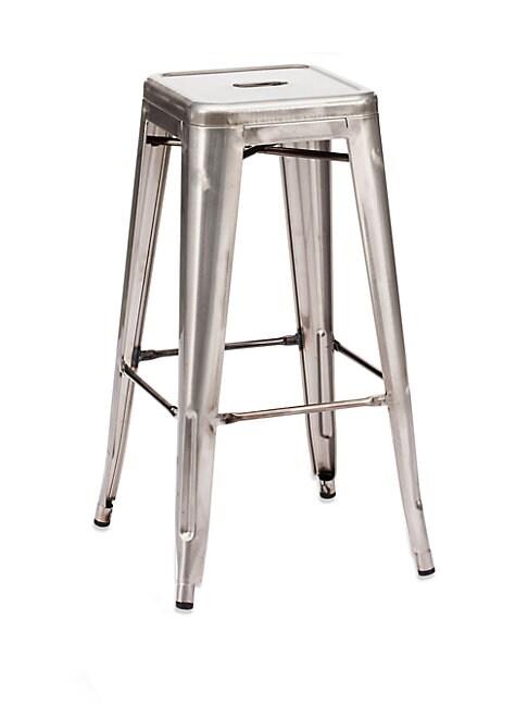 Marius Two-Piece Steel Barstool Set