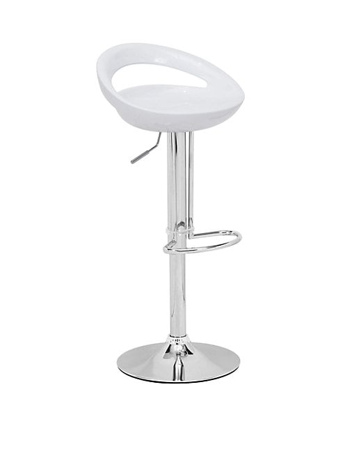 Tickle Adjustable Chrome Barstool