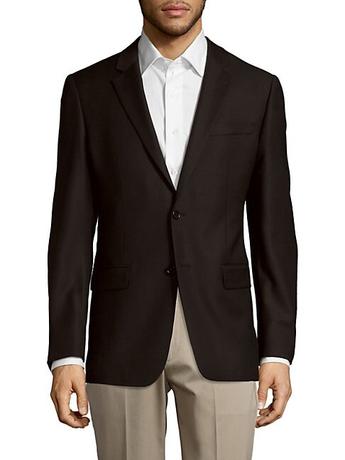 John Varvatos  Wool-Blend Jacket