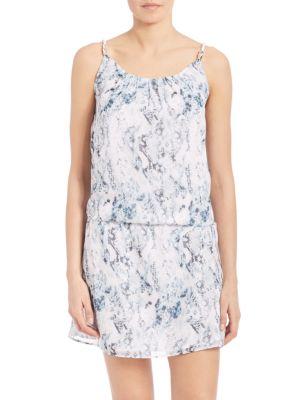 Heidi Klein Printed Drawstring Dress