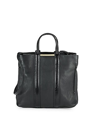 UPTOWNSHOPPER LEATHER TOTE