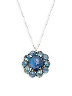 Ippolita - Wonderland Sterling Silver & Multi-Stone Pendant Necklace