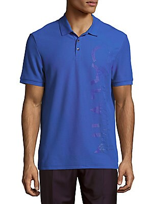 Cotton-Blend Short-Sleeve Polo