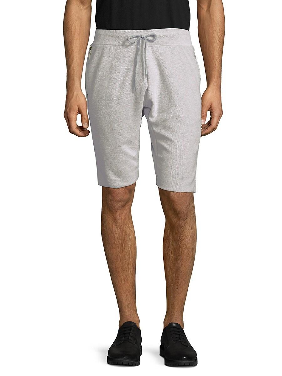 American Stitch Men's Textured Drawstring Shorts - Black - Size XXL