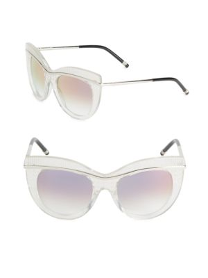 Boucheron 52MM Butterfly Sunglasses