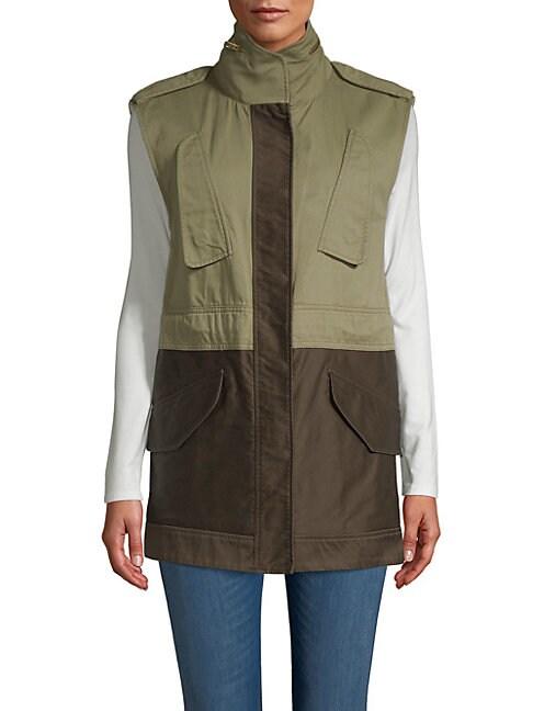 Kinsley Vest, Army Green