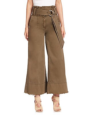 Serge Cropped Flared Pants