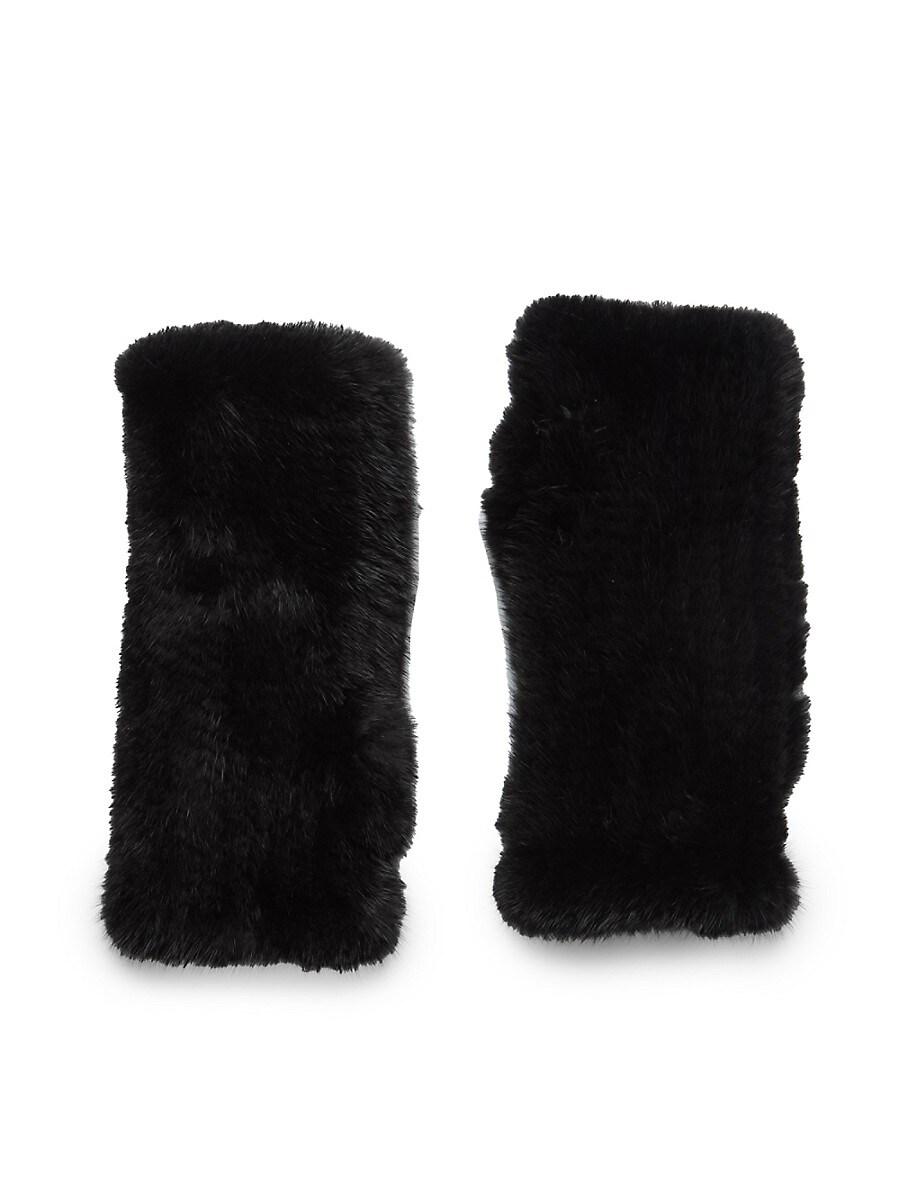 Fingerless Mink Fur Gloves