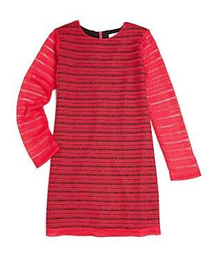 Girl's Crochet Lace Dress