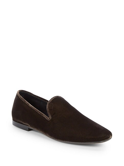 Bray Suede Loafers, Warm Grey