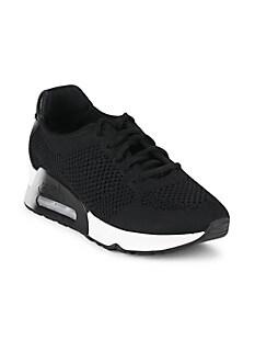 아쉬 스니커즈 ASH Lucky Lace-Up Sneakers,BLACK