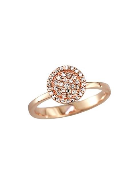 EFFY | Diamond & 14K Rose Gold Ring | Goxip