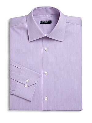 Micro Stripe Dress Shirt