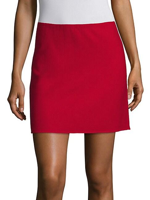 Irenah Saxton A-Line Mini Skirt