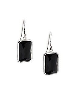 Ippolita - Black Onyx & Sterling Silver Drop Earrings