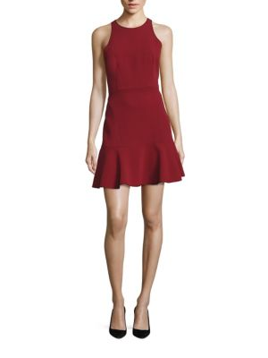 Theory Dresses Felicitina Ruffle Hem Dress