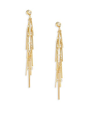 Glass Crystal Earrings