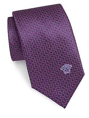 Medusa Silk Tie