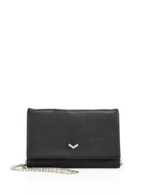 Soho Chain Wallet in Black