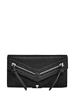 Botkier New York. Textured Leather Checkbook Wallet c1fc30f108