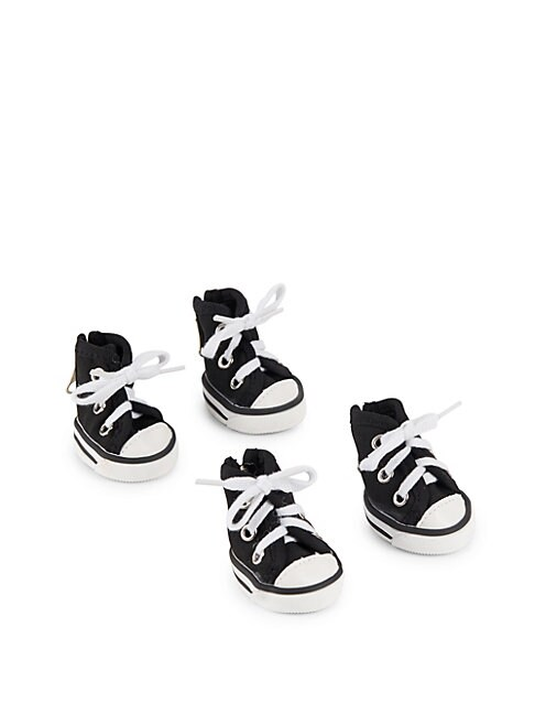 PET LIFE | Contrast-Lace Sneakers | Goxip