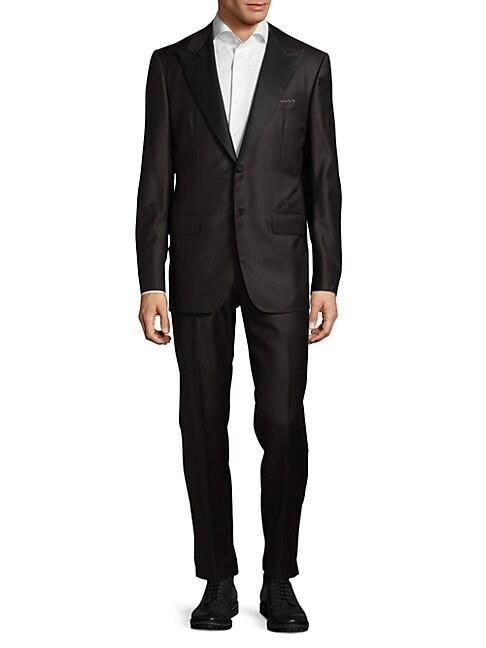 ABLA | Textured Wool Tuxedo | Goxip