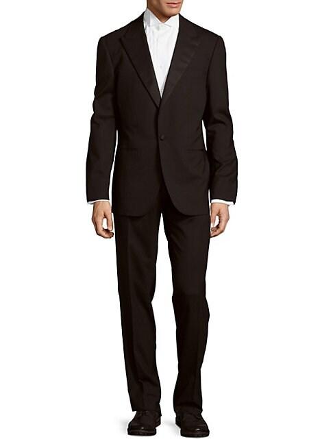 ABLA   Wool-Blend Suit   Goxip