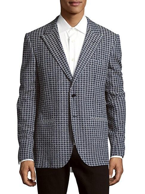 ABLA   Cotton-Blend Long-Sleeve Jacket   Goxip