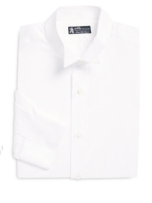 ABLA | Classic Fit Solid Cotton Casual Shirt | Goxip