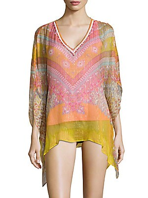 Printed Cover-Up Tunic
