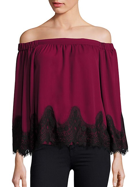 Prose & Poetry MARA OFF-THE-SHOULDER BLOUSE