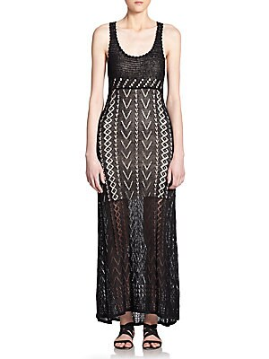 Lyra Crochet Maxi Dress