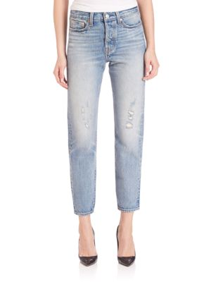 06fb8187c7 Wedgie High Rise Icon Cropped Boy-Fit Selvedge Jeans