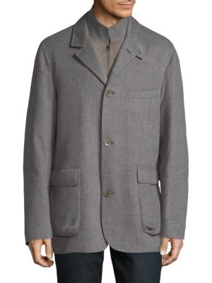 Loro Piana  Mock Layered Jacket