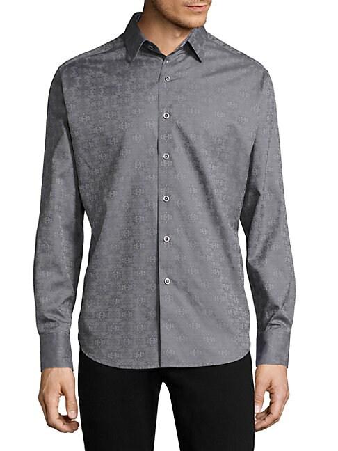 Cullen Cotton Button-Down Shirt